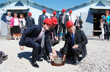Foundation stone of DH's new factory was laid